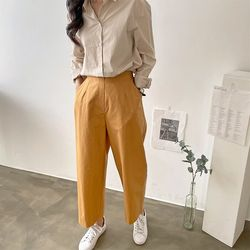 Mira Cotton Baggy Pants