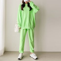 [ SET] Pigment Sweatshirt   Jogger Pants