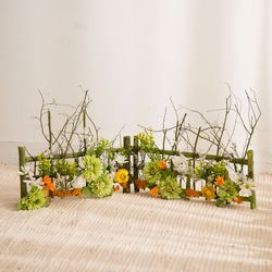 꽃 울타리