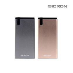 SICRON 9V 12V 고속 충전 보조배터리 (10000mAh) BP-11000Q