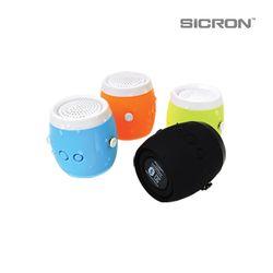 SICRON 휴대용 미니 블루투스 생활 방수 스피커 ENQ-62