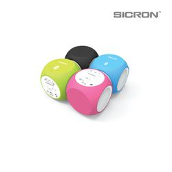 SICRON 다이스 붐박스 블루투스 휴대용 스피커 ENQ-82