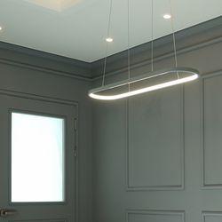 그레이 LED 국산 주방 식탁등 조명 40W