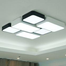 블럭 색변환 국산 LED 거실등 6등 100W