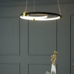 블랙제로 LED 국산 주방 식탁등 조명 40W