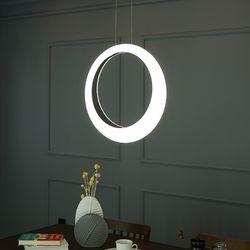 코어 LED 국산 주방 식탁등 40W