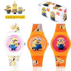 [1+1] 미니언즈 캐릭터 손목시계 M1606 3종