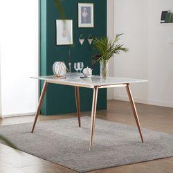 엘리 대리석 6인용 식탁 테이블 1800