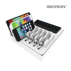 SICRON 5V 7구 멀티 USB 충전기 ENC-68