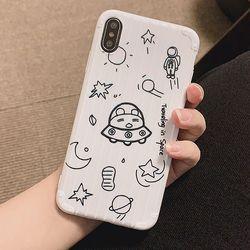 캐리어 우주선케이스(아이폰7플러스8플러스)