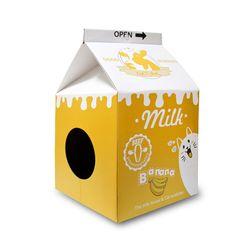 타비 밀크 하우스 스크레쳐 - 바나나 우유 - s