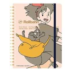 [마녀배달부 키키] Rollbahn 루반노트(마녀 핑크)