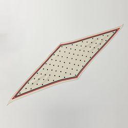 Dot Line Diamond Scarf