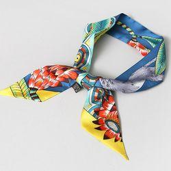Silk Bird Petit Tie Scarf - New