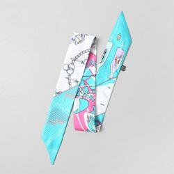 Silk Peru Petit Tie Scarf - New