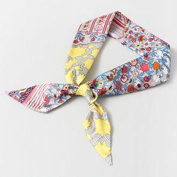 Silk Muse Petit Tie Scarf - New