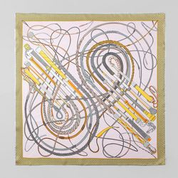 Silk Lucid Square Petit Scarf - New