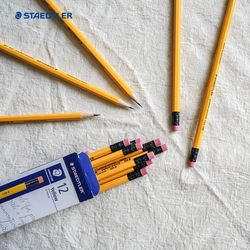 스테들러 지우개연필 옐로우 펜슬 134 12개입 세트