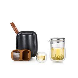 사마글라스 휴대용 티포트 가방 티세트 (2인용) L005S