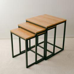 TS 아믹스 정사각 테이블 3세트