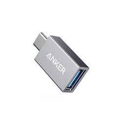 앤커 USB C to USB A 3.0 변환 젠더 – 스페이스 그레이