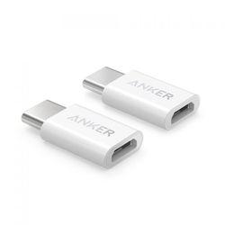 [2팩세트] 앤커 USB C to 5핀 마이크로 USB 젠더 미니
