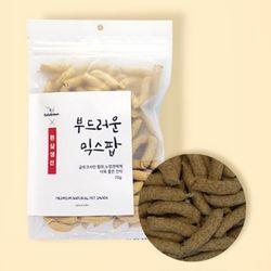 맛있는 강아지 간식 부드러운 믹스팝 70g(흰살생선)