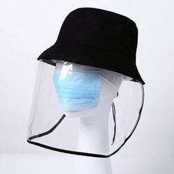 코로나 예방 투명 벙거지 캡모자 방역모자 모음전
