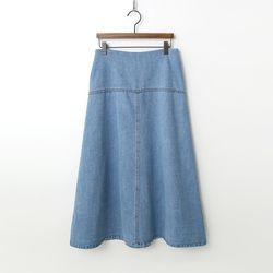 Agnes Denim Long Skirt