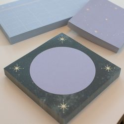 Starry-Circle memo pad