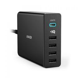 앤커 파워포트 플러스 C타입 멀티포트 USB 충전기 (5포트)