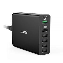 앤커 파워포트 플러스 멀티포트 3.0 USB 충전기 (6포트)