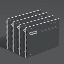 텐미닛 플래너 16WEEKS - 다크호스 4EA