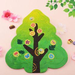봄나무퍼즐만들기(4개)