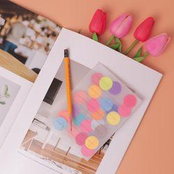 땡땡이 투명엽서 만들기 패키지 DIY(5인)