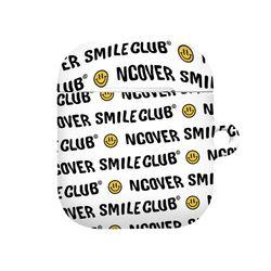 Smile club(emoticon)-white.black(airpods hard)