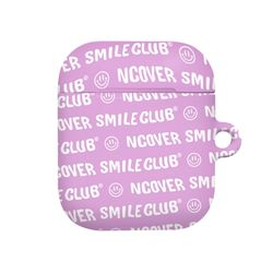 Smile club(emoticon)-purple(airpods hard)