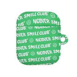 Smile club(emoticon)-green(airpods hard)