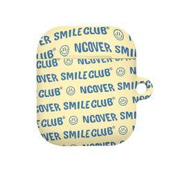 Smile club(emoticon)-cream(airpods hard)