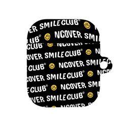 Smile club(emoticon)-black(airpods hard)