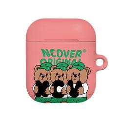 Ncv alphabet bruin-pink(airpods hard)