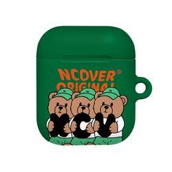 Ncv alphabet bruin-green(airpods hard)