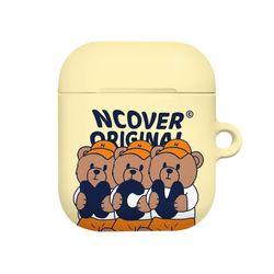 Ncv alphabet bruin-cream(airpods hard)