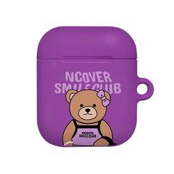 Handbag bruin-purple(airpods hard)
