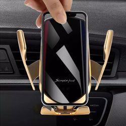 엘스타 10W 차량용고속무선충전거치대 자동차핸드폰거치대