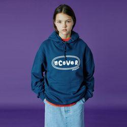 Original foaming printing hoodie-deep blue