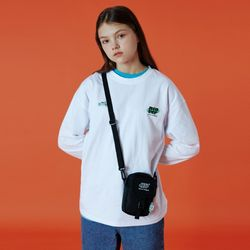 Double label point long sleeve-white