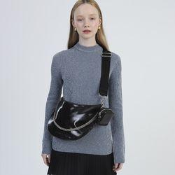 Half Moon 2way Bag (Leather Black)
