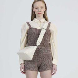 Triangle 2way Mini Bag (Ivory)