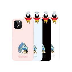 아이폰6S 흰둥이집 짱구 피규어 하드 케이스 KP027